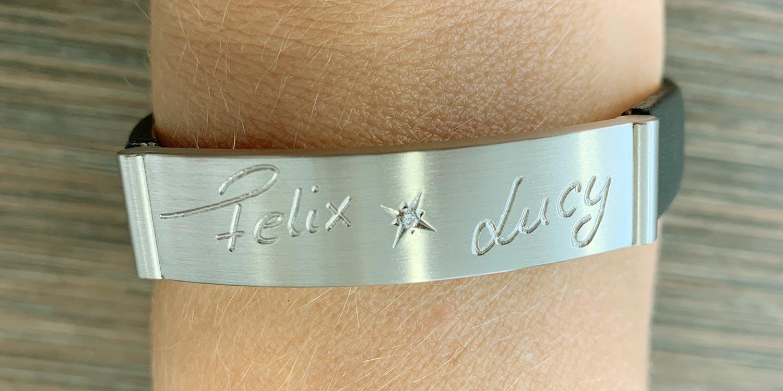 Individualisiertes Armband, Geschenk für die Mutter